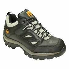 NEW MENS WALKLANDER SAFETY TRAINERS SHOES WORK STEEL TOE CAP BOOTS SIZE 7/41 UK