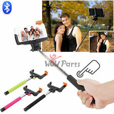 Wireless Bluetooth Selfie Extendable Monopod Holder Pole for iPhone 6 5s Phone
