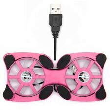 2014 New high quality USB Mini Octopus Laptop Notebook Fan Cooler Cooling Pad