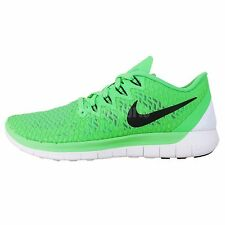 Nike Wmns Free 5.0 Swift Green White 2014 New Womens Jogging Running Shoes Run