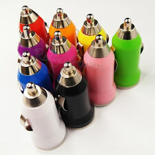 Mini Bullet 1-Port USB Car Charger Adaptor For iPhone 5 6 Plus iPod Touch LOT