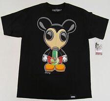 GAS MASK Bong T-shirt Enemy Of The State Mickey Mouse Weed Tee Adult M-3XL NWT