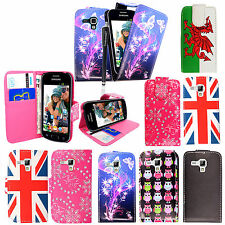 New Wallet Flip PU Leather Case Cover For Samsung Galaxy Trend S7560+Free Stylus