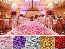 new 1000pcs Various Colors Silk Flower Rose Petals Wedding Party Decorations