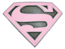 "6.5-10.5"" SUPERGIRL COMICS LOGO CHARACTER WALL SAFE STICKER BORDER CUT OUT"