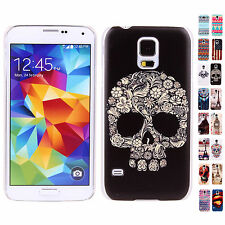 HOT SALE Cool Skull Skin HYBRID Protector Back Case Cover For Samsung Galaxy S5