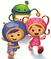 """5.5-9"""" TEAM UMIZOOMI GEO MILLI BOT WALL SAFE STICKER CHARACTER BORDER CUT OUT"""