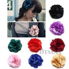 Tiara Bridal Hair Clip/Brooch Rose Flower Corsage Fascinator for Wedding Party