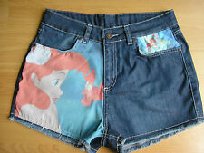 ♥ Primark DENIM SHORTS DISNEY ARIEL THE LITTLE MERMAID UK SIZE 6-20 ♥