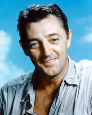 ROBERT MITCHUM BLUE SKY BACKDROP COLOR PHOTO OR POSTER