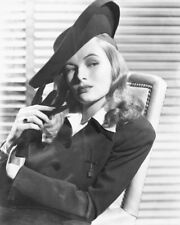 VERONICA LAKE B&W IN HAT PHOTO OR POSTER