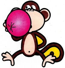 """5-8"""" BOBBY JACK MONKEY BUBBLE WALL SAFE STICKER CHARACTER BORDER CUT OUT"""