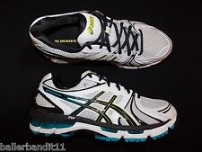 Mens Asics Gel Kayano 18 4E shoes sneakers runners black new T202N 0190
