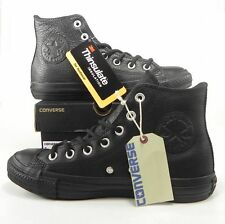 CONVERSE All Star Athletic Sneakers Hi Top Black Thinsulate Leather 139999C Men