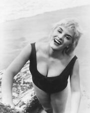 JUNE WILKINSON SEXY B&W BUSTY PHOTO OR POSTER