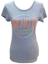 Bench Glitter Ball Grey Shirt Top BLGA2841 Damen Womens Girls