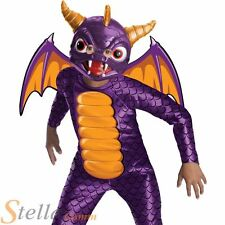 Boy's Official Spyro The Dragon Skylanders Halloween Fancy Dress Costume Kids
