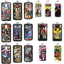 DC MARVEL COMIC BOOK COVER CASE FOR SAMSUNG GALAXY S2 S3 S4 S5 - MINI & MORE No4