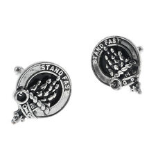 Scottish Clan Crest Cufflinks - Choice of 100+ Clans - Names P to S & National