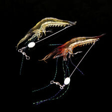 18cm 8g Bionic Shrimp Soft Bait Artificial Biomimetic Fishing Lure with Hook