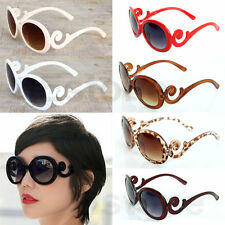 Womens Butterfly Clouds Arms Sunglasses Semi Tranparent Round Hot Retro-inspired