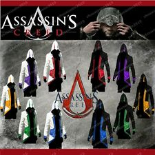Hot Assassin's Creed 3 Conner Kenway Hoodie Jacket Coat Cloak Costume Cosplay