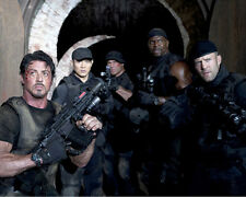 THE EXPENDABLES SYLVESTER STALLONE JASON STATHAM PHOTO OR POSTER