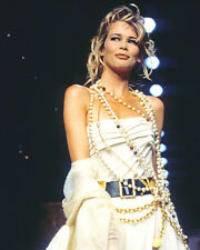 CLAUDIA SCHIFFER STUNNING CATWALK MODEL PHOTO OR POSTER