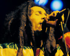 BOB MARLEY DREADLOCKS ICONIC CLOSE UP IN CONCERT PHOTO OR POSTER