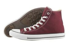CONVERSE ALL STAR CHUCK TAYLOR HI 139784F BURGUNDY CANVAS CASUAL SHOES MEN