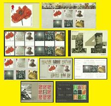 2014 The Great War, all Royal Mail varieties issued, each sold seperately