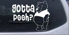 Gotta Pooh Winnie Pooh Car or Truck Window Laptop Decal Sticker