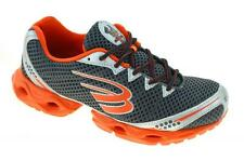 SPIRA Women's Stinger 2 Running Running Shoe, Charcoal/Orange/Metal