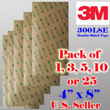 3M 300LSE Double Sided Sticky Adhesive Sheet Transfer Tape High Bond Digitizer