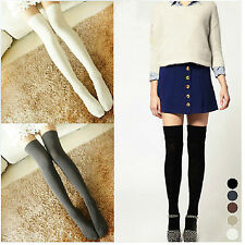 New Sexy Women Girl Thigh High OVER the KNEE Socks Cotton Stockings 5 Colors Hot