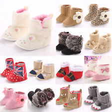 New Newborn Baby Girl&Boy Anti-slip Socks Slipper Shoes Boots 0-18 Months