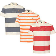 Mens Polo Ralph Lauren Custom Fit Short Sleeve Rugby Jersey Various Colours