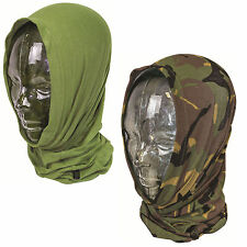 Tactical Military Thermal Headover DPM Camo or Olive, Balaclava, Scarf, Hat