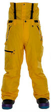 Sessions Resolute Snowboard Pants Yellow Mens