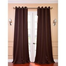 Grommet Java Designer Blackout Curtain Panel Pair