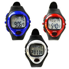 Fitness Sports Watch calorie pulse heart rate stop watch exercise workout
