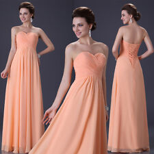 ON SALES ~Long Prom Formal Party Evening Pageant Cocktail Dresses Wedding Gown