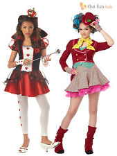 Girls Alice Fairytale Book Movie Fancy Dress Costume Age 10 11 12 13 14 years