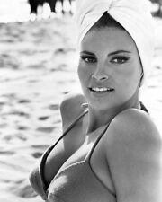 RAQUEL WELCH ON BEACH BIKINI HEAD SCARF PHOTO OR POSTER