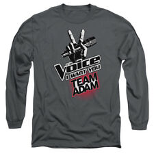 The Voice Reality Singing Contest TV Show Team Adam Adult Long Sleeve T-Shirt
