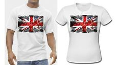 UK Union-Jack Poppies Referendum White T Shirt