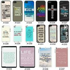 SAYINGS QUOTES COVER CASE FOR APPLE IPHONE IPOD AND IPAD - A8