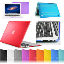 """Frosted Rubber soft color case MacBook Air 11"""" A1370 A1465 Full Body Skin Cover"""