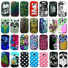 For Samsung Galaxy Exhibit T599 Cool Designs Rubberized Hard Case Phone Cover