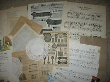 100+pc!Vtg Paper Ephemera Lots~Scrapbook,Collage,Altered Art,Mix Media,Decoupage